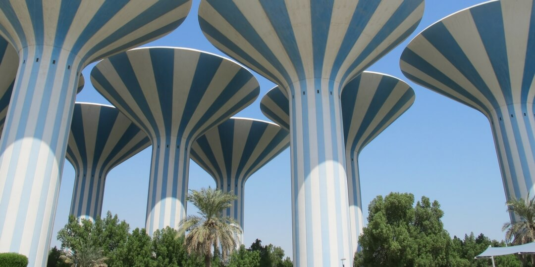 Kuwait Water Towers - Kuwait City | Middle East Destinations