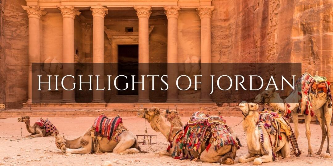 Petra Treasury - Jordan highlights