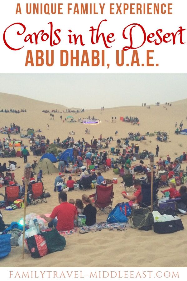 Carols in the Desert. A unique UAE family experience