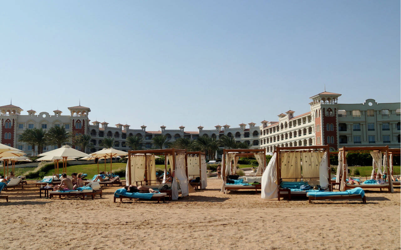Hughada Beach Resort in Egypt
