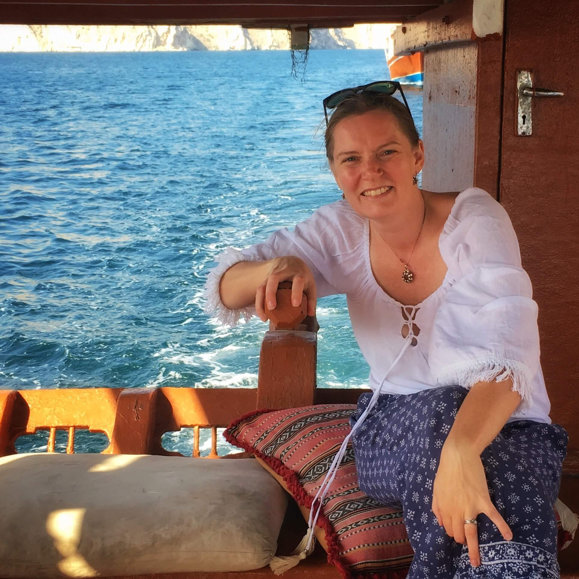 Keri Hedrick Editor of Family Travel in the Middle East