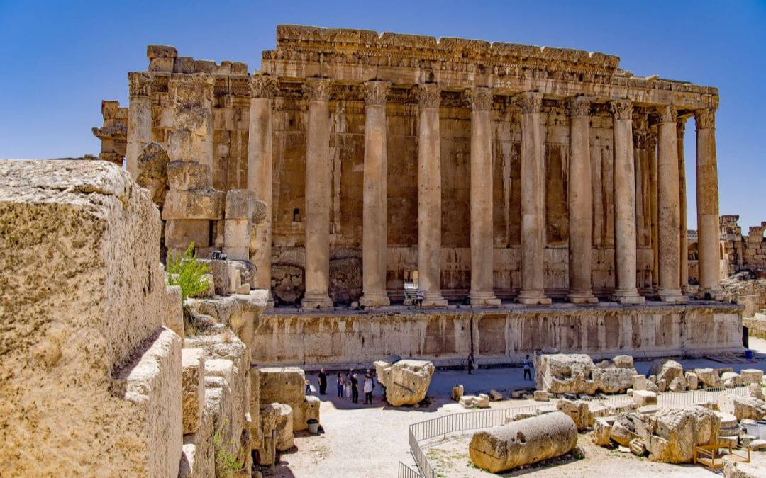 Baalbek Temple Lebanon