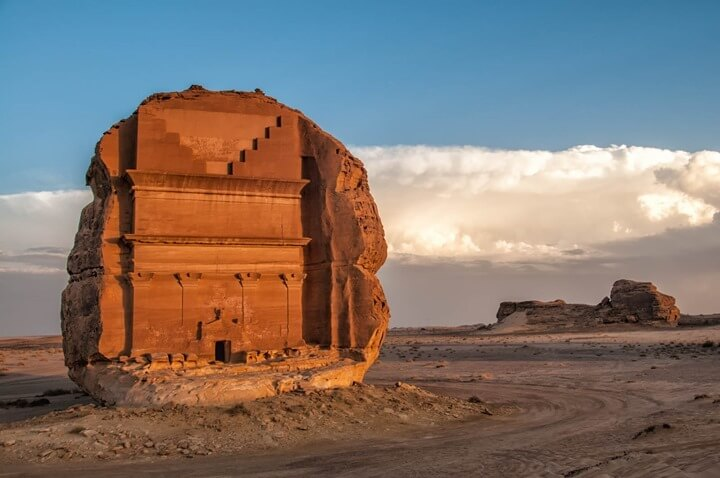 Mada-in Saleh Beyond My Front Door