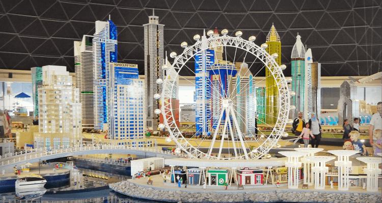 Miniland at Legoland Dubai