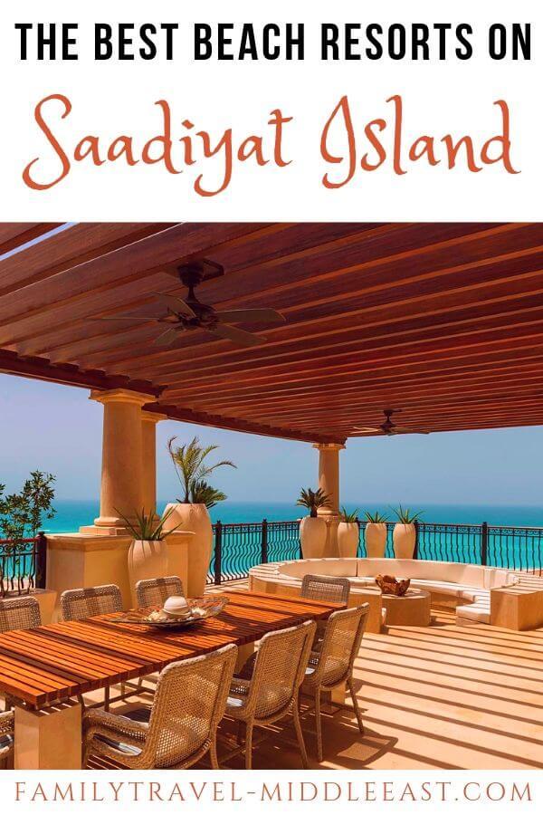 Saadiyat Island Beach Resorts