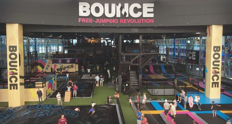 Bounce indoor play center in Abu Dhabi