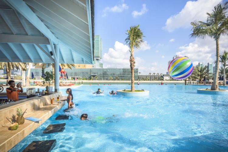 Beach Rotana Pool