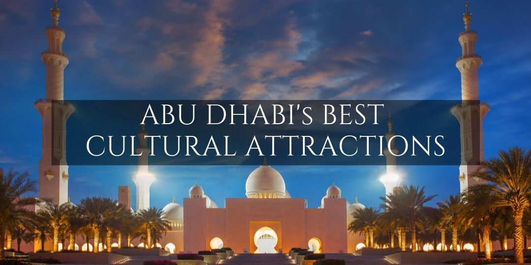 Abu Dhabi Cultural Attractions - Sheikh Zayed Mosque lit up at night
