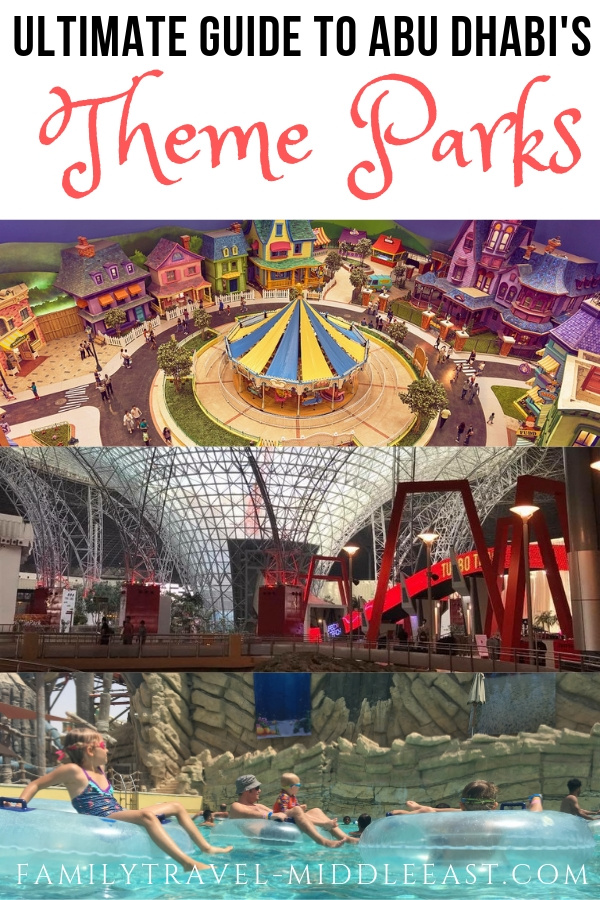 Yas Island Theme Parks