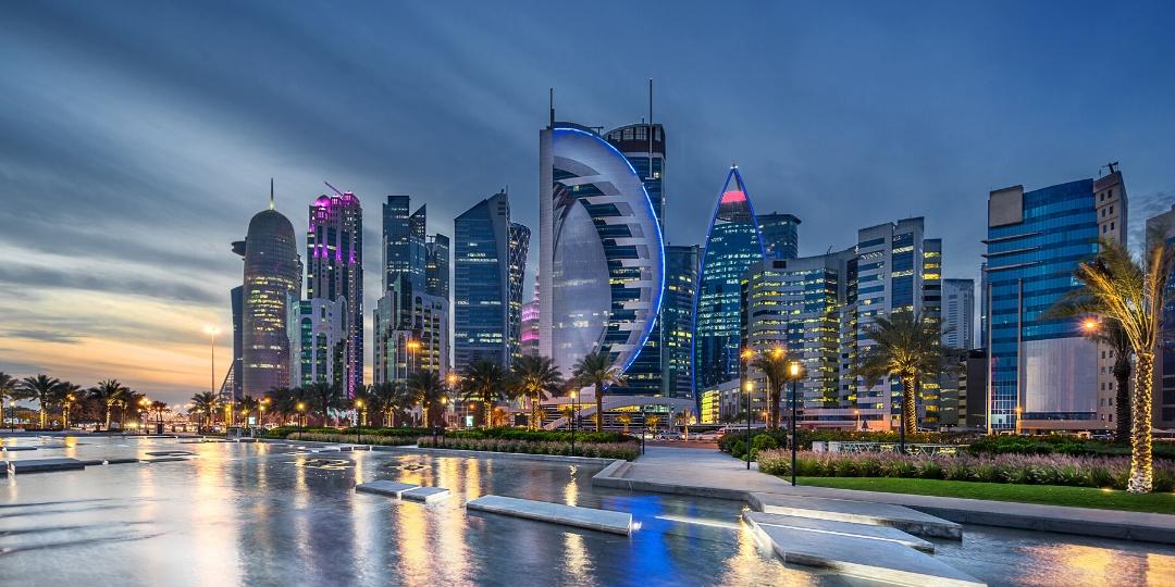 Qatar Doha modern city skyline