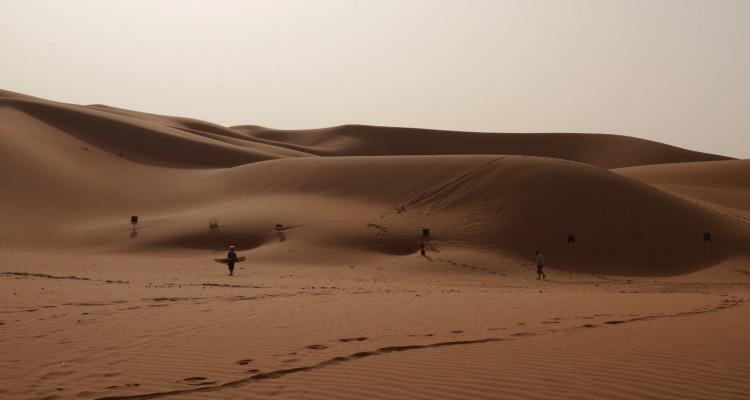 UAE Desert Camping
