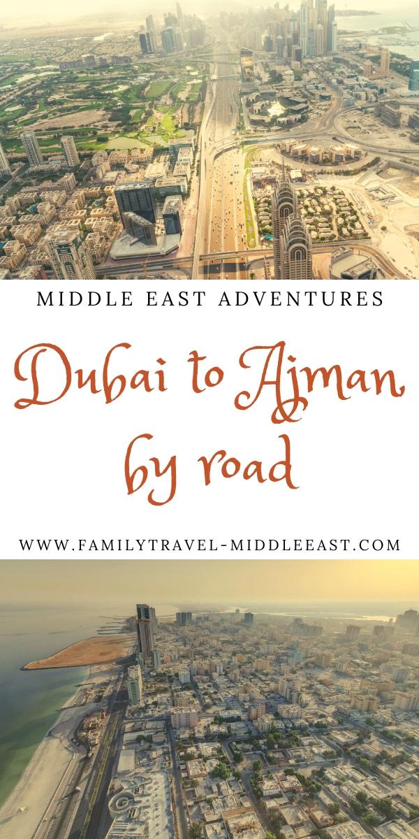 Dubai to Ajman by Road