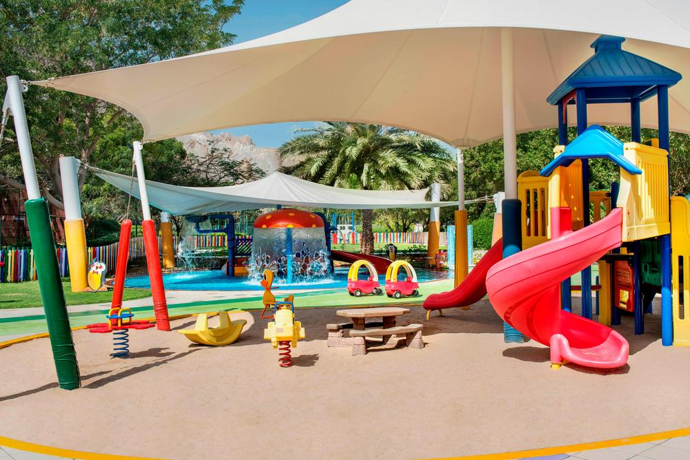 Le Meridien Al Aqah Children's Play Area