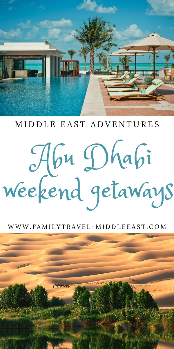 Abu Dhabi Winter Weekend Getaways