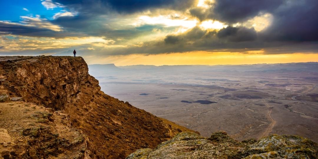 Hiking In Israel Negrev Desert
