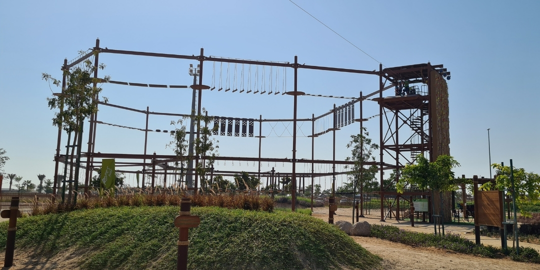 Sensational new Ropes Park for kids at Circuit X, Al Hudayriyat Island