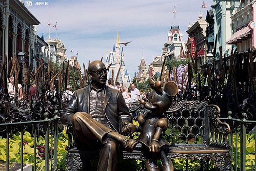 Places to Rest at Magic Kingdom