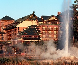 Walking / Running at Disney's Wilderness Lodge
