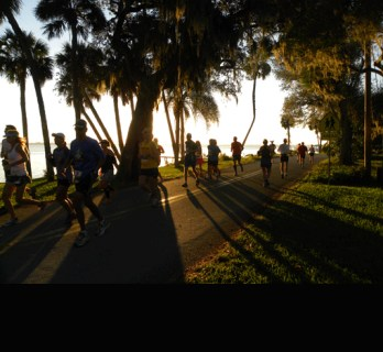 """Space Coast Marathon scenery"""