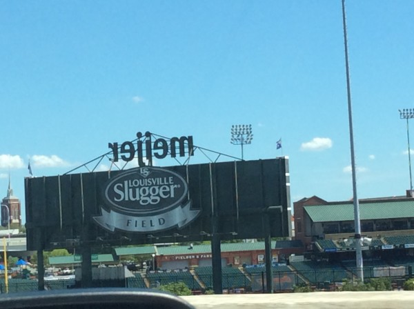 Louisville Slugger Field in Downtown Louisville