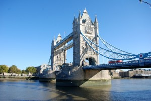 """Tower Bridge in London"""