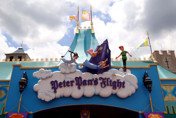Peter Pan's Flight at Walt Disney World.