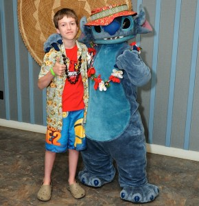 "I thought that Stitch from ""Lilo and Stitch"" lived on Kauai. He frequently visits Aulani on Oahu though."