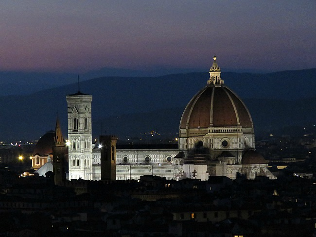 Florence Italy at Night