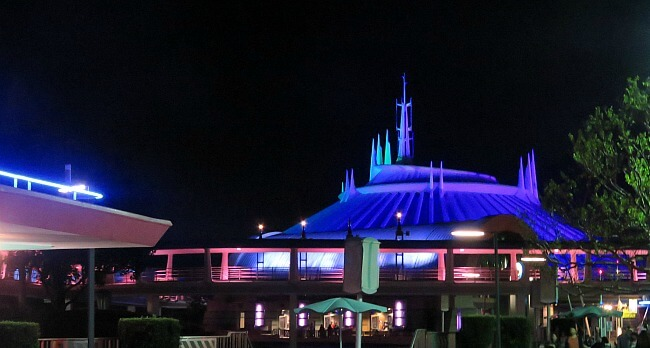 Tomorrowland at Night