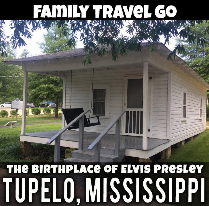 The Birthplace of Elvis Presley, Tupelo, Mississippi