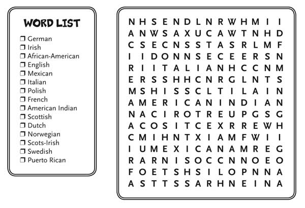 Black History Word Puzzles