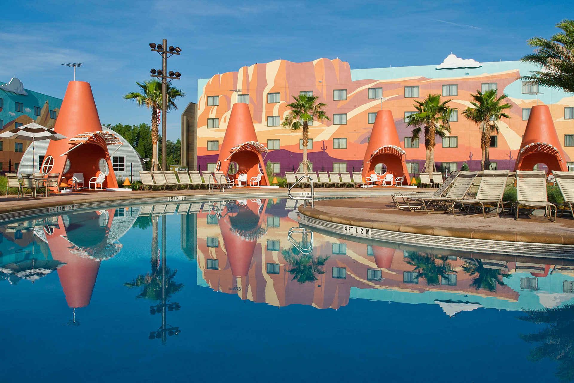 Pool at Disney's Pop Century Resort