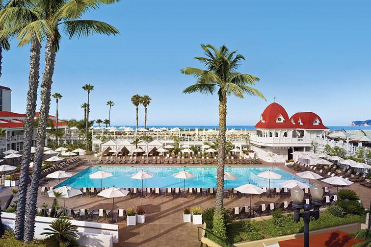 Hotel del Coronado in Coronado, California