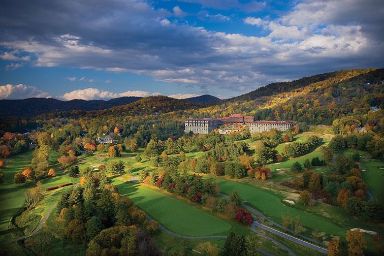 The Omni Grove Park Inn in Asheville, North Carolina
