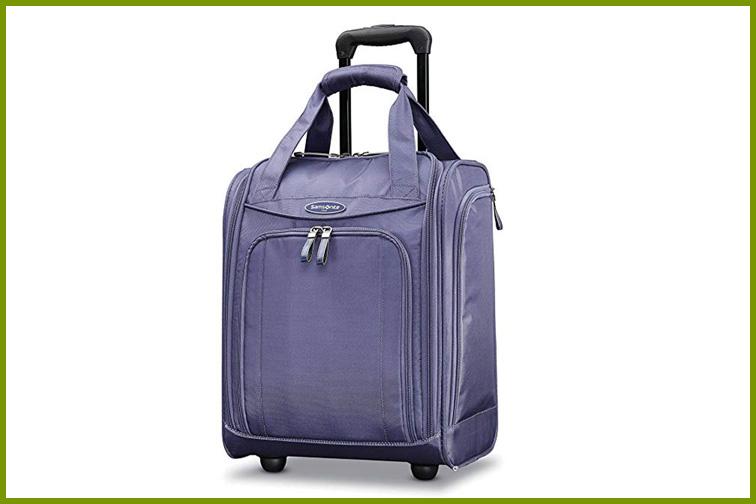 Samsonite Wheeled Underseater in Purple