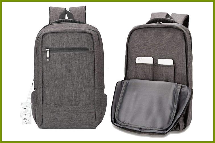 Winblo Travel Laptop Backpack in Gray