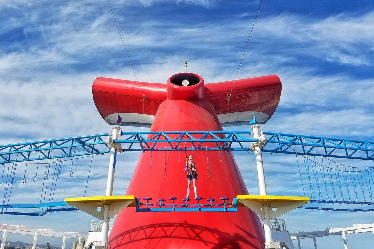 Sky Course on Carnival Horizon