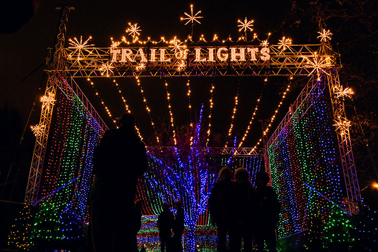 Austin Trail of Lights in Texas