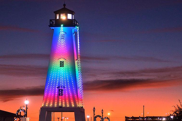 Gulfport Harbor Lights Winter Festival in Mississippi
