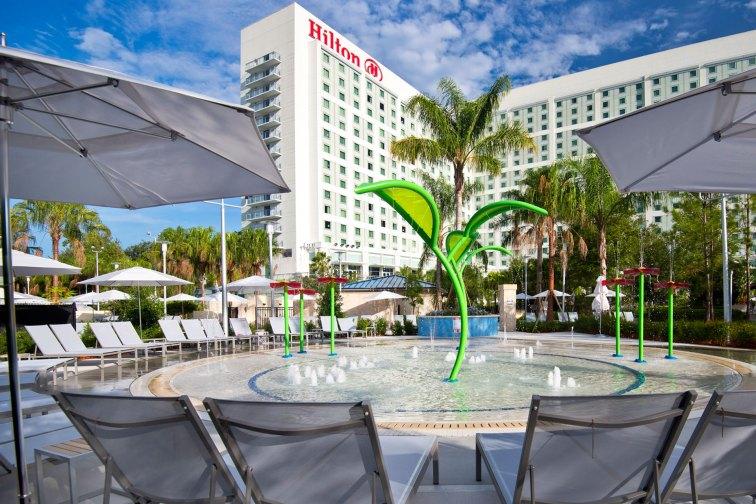 Pool at Hilton Orlando