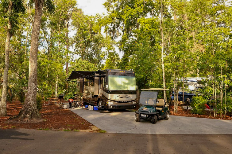 The Campsites at Disney's Fort Wilderness Resort; Courtesy of Disney