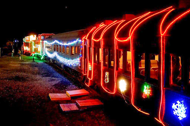 Train of Lights; Courtesy of Train of Lights