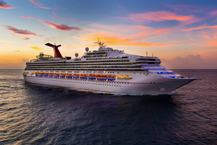Carnival Sunshine; Courtesy of Carnival