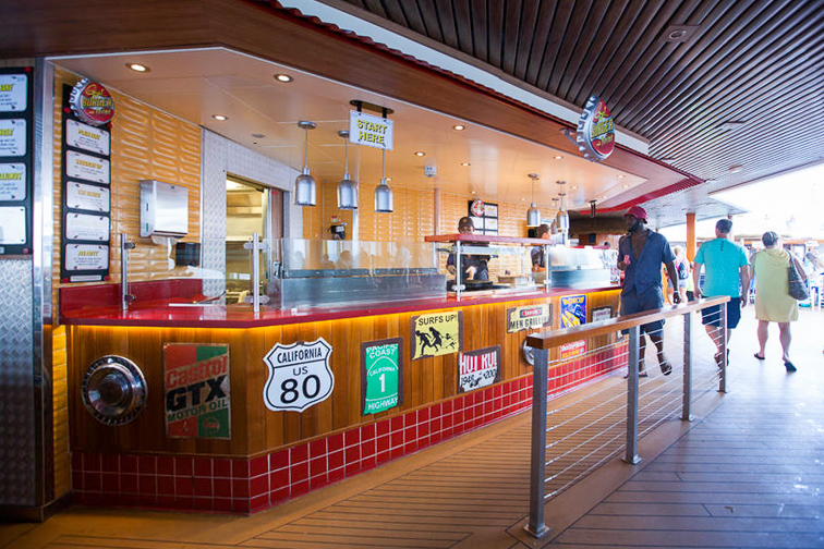 Guy's Burger Joint on Carnival Sunshine; Courtesy of TripAdvisor