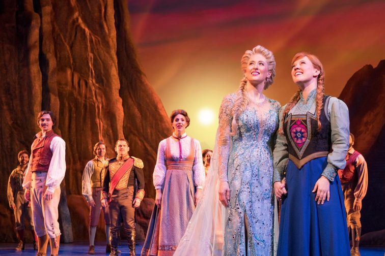 Frozen The Musical on Broadway in NYC