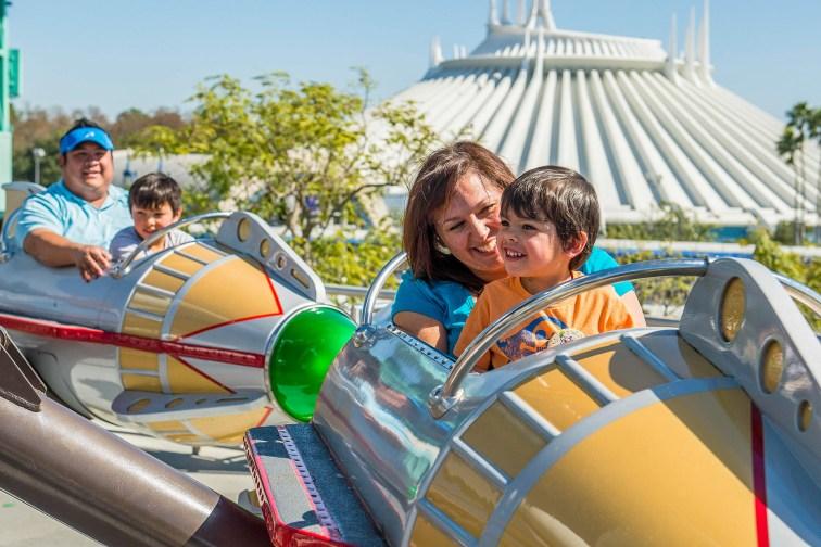 Parents With Toddlers at Disney World; Matt Stroshane/Courtesy of Walt Disney World