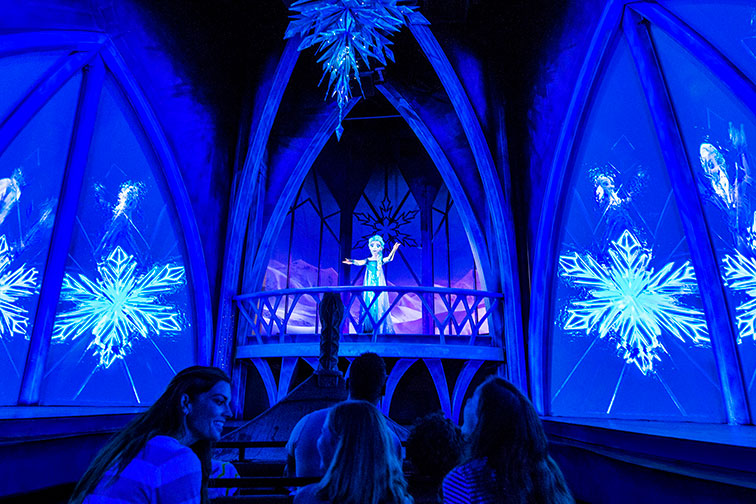 Frozen Ever After Ride at Disney's Epcot