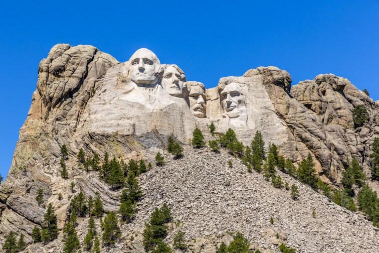 Mount Rushmore; Courtesy of John Brueske/Shutterstock