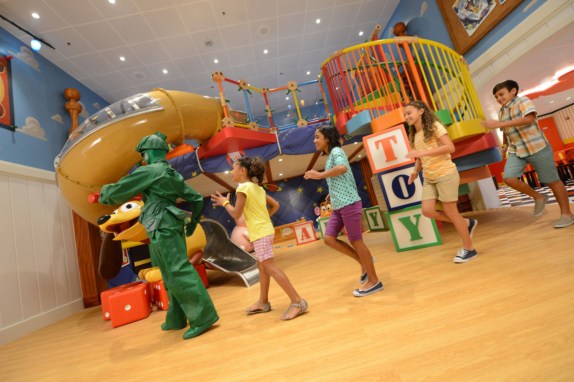 Andy's Toy Room at Kids' Club on Disney Cruise Line; Courtesy of Disney