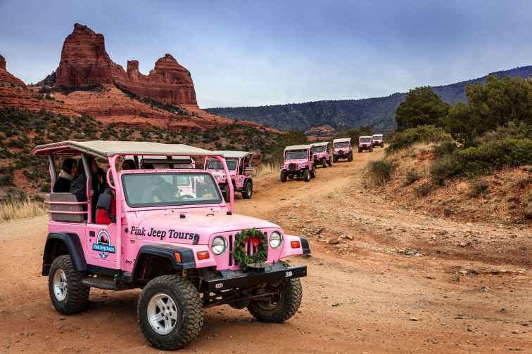 Pink Jeep Tours in Sedona, Arizona
